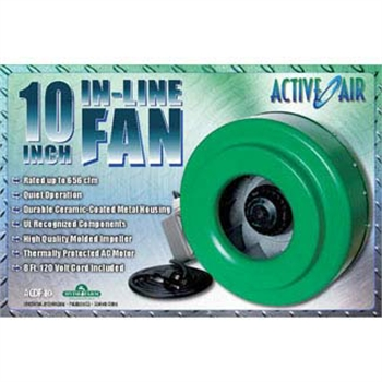 "Active Air Inline Fan 6"" 400 c - Click Image to Close"