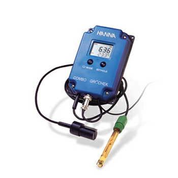 pH/EC/TDS/temp cont meter