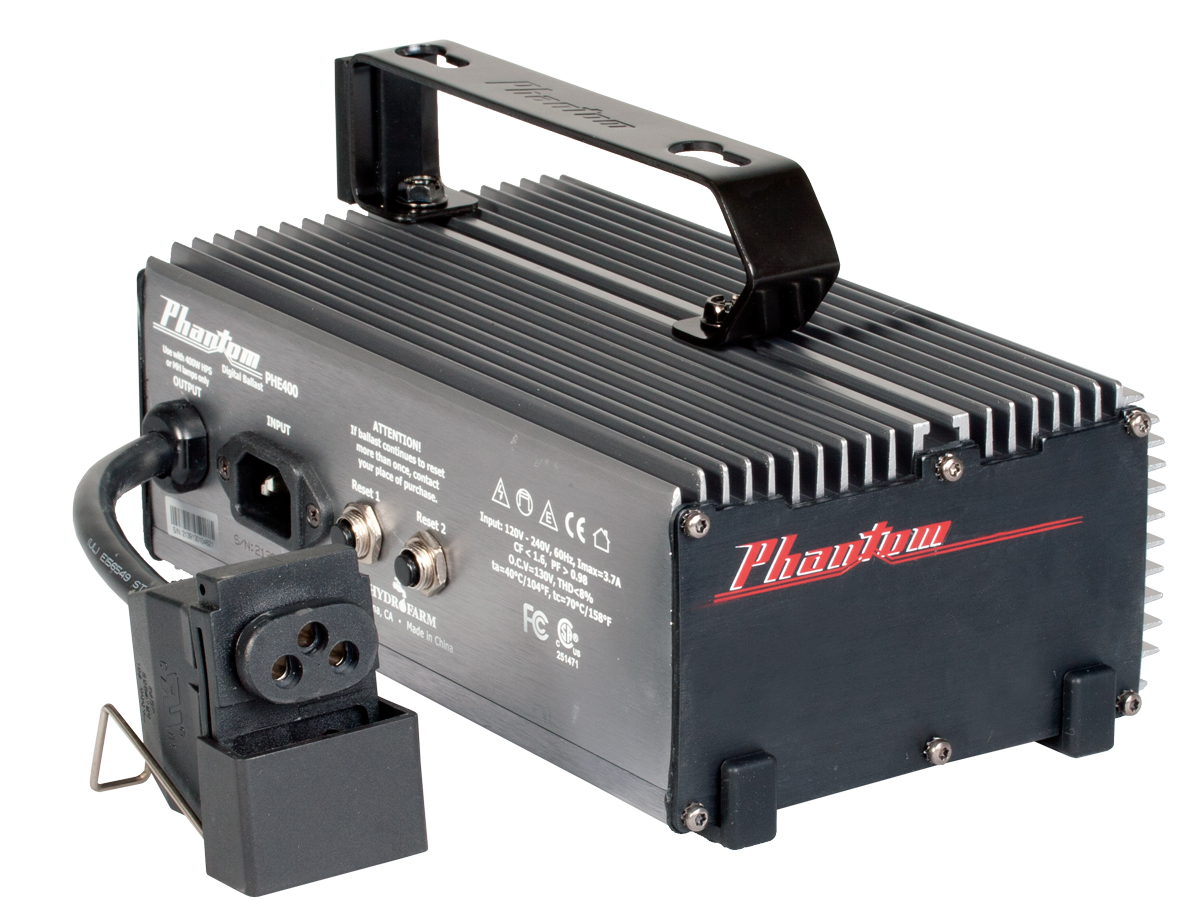 Phantom 400W Digital Ballast, 120/240v